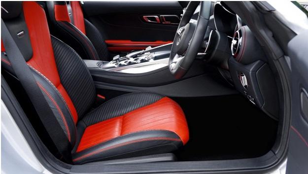 car interior detailing